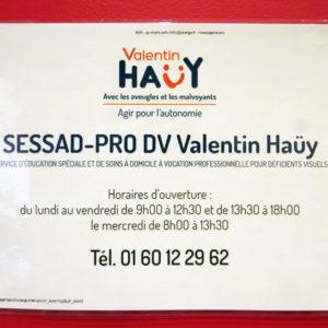 Coordonnées du SESSAD Pro