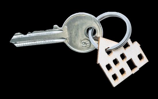 image d'une clé d'appartement