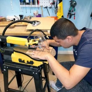 Formation professionnelle : atelier bois