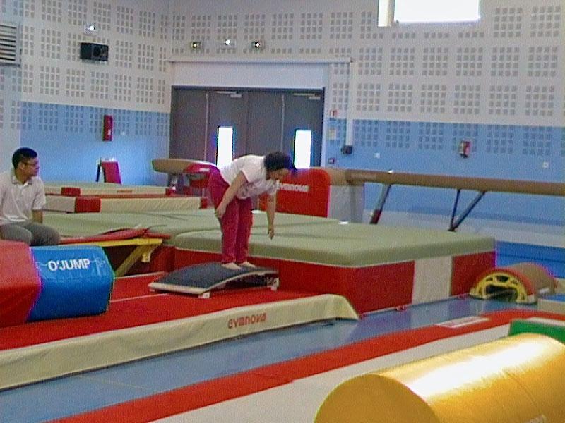 Gymnastique adaptée : afficher la photo